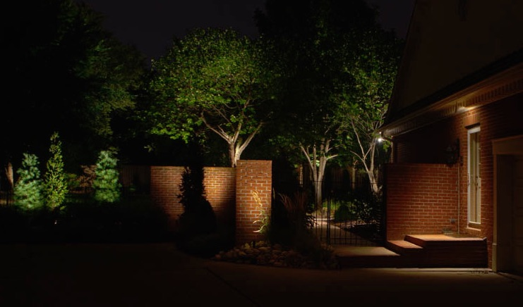 security kansas city landscape lighting design natural accents